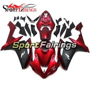 Motorcycle Abs Plastic Red Black Fairings For Yamaha Yzf1000 07 08 R1 2007 2008