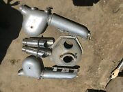Exhaust Manifolds And Snails Bell Housing+ Parts Jet Boat 455 403 350 Oldsmobile