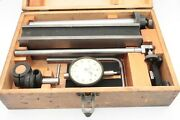 Rare Federal Inspection Set With C-81 Indicator .001 T Slot H Base Excellent