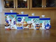 Pillsbury Doughboy Kitchen Canister Collection - Rare And Collectible - Nice