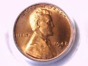 1948 S Lincoln Wheat Cent Penny Pcgs Ms 66 Rd 13240965