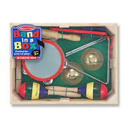 New - Melissa And Doug Band In A Box - Ages 3+   1+ Players