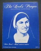 The Lord's Prayer By Sister Janet Mead Sister Of Mercy Sheet Music Arnold Strals