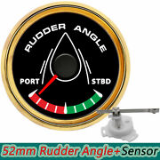 52mm 0-190ohms Boat Rudder Angle Indicator With Mating Sensor With 8 Backlight