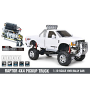 Hg 4wd Off Road Rock Crawler 1/10 2.4g Electric Power Brushed Motor Rtr Truck