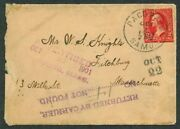 Samoa To Ma - Rare Advertised Cover W Us Stamp - Wow