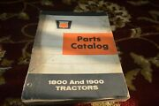 Oliver 1800 1900 Tractor Parts Book Manual Lhpa