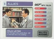 2002 Ge Fabbri James Bond 007 Spy Files - Allies 5 Felix Leiter