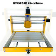 Metal Frame Apply 3018 Update Plus Nema17 / 23 Stepper 52mm Spindle Wood Router