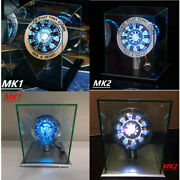 Iron Man Arc Reactor Lights Mk1/mk2 Model Tony Stark Led Chest Heart Light Props