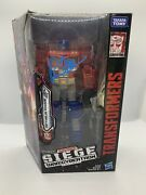 Transformers Generations War For Cybertron Wfc-s11 Optimus Signed Peter Cullen