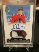 2019-20 Ud Cup Auto Rookie Patch Rc Sp Kirby Dach 46/99