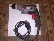 Porter-cable Corded Drill Variable Speed 6-amp 3/8-inch Pc600d