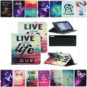 Flip Leather Case Cover Keyboard For Dragon Touch A7 M7 K7 Y88 E70/e71 7 Tablet