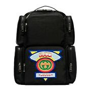 Nwt Authentic 536743 Large Nylon Backpack With And03980s Patch Logo