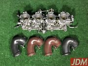 Toyota 4age 20valve Individual Throttle Bodies Itbs 91-93 Silver Top 22210-16621