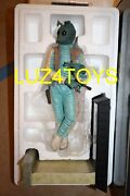 Star War Gentle Giant Greedo Statue 1/6 Scale 2010 Pgm Exclusive 102/400 New
