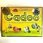 New Cranium Cadoo Board Game For Kids Brain Toy Game Of The Year Award Ages 7+