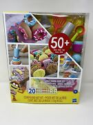 Play-doh Kitchen Creations - Hasbro 50+ Pieces And 20 Non-toxic Molding Clay Jars+