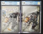 Weapon H 1 Cgc 9.8 Crain A And B Virgin Variant Covers Hulk 181 Homage Wolverine