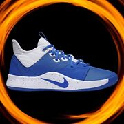 🔥nike Paul George Pg 3 Game Royal Shoes Cn9512-405 Womenand039s Sizes 67 And 6.5 Nib