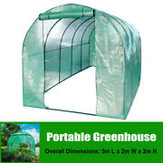 Walk-in Greenhouse Outdoor Winter Patio Green Hot House Arch Pe Plant Grow Shed