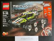 New Lego Technic 42065 Rc Tracked Racer Set W/power Functions Retired Nisb