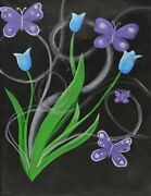 Butterfly Enchantment Acrylic Painting Kit And Video Lesson