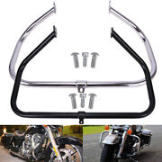Engine Guard Crash Bar / Foot Pegs For Harley Electra Glide Road King 2009-2021