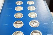Fifty-state Bicentennial Medal Collection 1st Edition Sterling Silver Proof Set