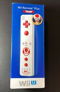 Official Nintendo Wii Remote Plus [ Toad Special Edition ] New