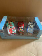 Disney Cars Disney Store 3-pack Pullback Rocket Racers Paul Xrs Mcqueen And Cam