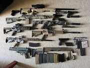 Large Lot Of Airsoft Guns, Parts, And Accessories 2