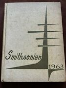 1963 E. E. Smith High School Smithsonian Yearbook Fayetteville, Nc 28301