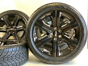 6 Spoke 22 Black Chevy Gmc Sierra Cadillac Wheels Rims Tires 6x139 Ltz High Cou