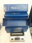 Lot Of 4 Pcgs Original Blue Storage Boxes - Each Stores 20 Graded Slabbed Coins