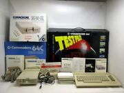 Commodore 64c Test Pilot Bundle Computer System 1541-ii Disk Drive Games Box