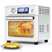 Air Fryer Toaster Oven, Icetek 21qt 1800w Countertop Convection Oven With 16 Pre