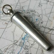 Rare Ww1 Territorial Army Trench Whistle War British Officer Wwi Military