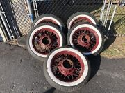 1932 33 34 35 36 Chevy Spoke Wire Wheels 19 Wheel Chevrolet Rims And Tires