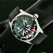 Corum 2004 Bubble Dive Bomber Shark Green Dial 44mm Automatic Watch 82.180.20