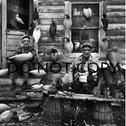 Antique Repro 8x10 Photograph Famed Duck Decoy Carvers Ward Brothers