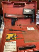 Hilti Dx36m And M62 Powder Actuated Nail Stud Gun Tool Untested As-is.