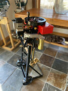 Wisconsin Antique Rowboat Row Boat Motor 1922 With Antique Stand