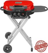 Coleman Coleman Roadtrip 225 Portable Stand-up Propane Grill, Easy Set Up