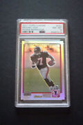 2001 Topps Chrome Refractor 262 Michael Vick Rookie Rc Psa 8 Serial Andrsquod/999