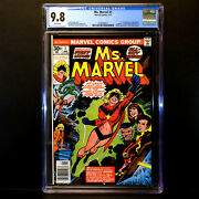 Ms. Marvel 1 1977 🔥 1st Carol Danvers As Ms. Marvel 🔥 Cgc 9.8 - White Pages