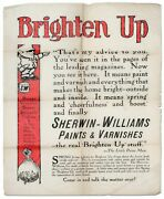 Sherwin-williams / Poster Or Broadside Brighten Up Thatand039s My Advice To You 1st