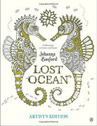 Lost Ocean Artistand039s Edition An Inky Adventure And Coloring Book For Adults