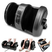 Foot Massager Shiatsu Calfleg Massage Machine Rolling Kneading With Heat New